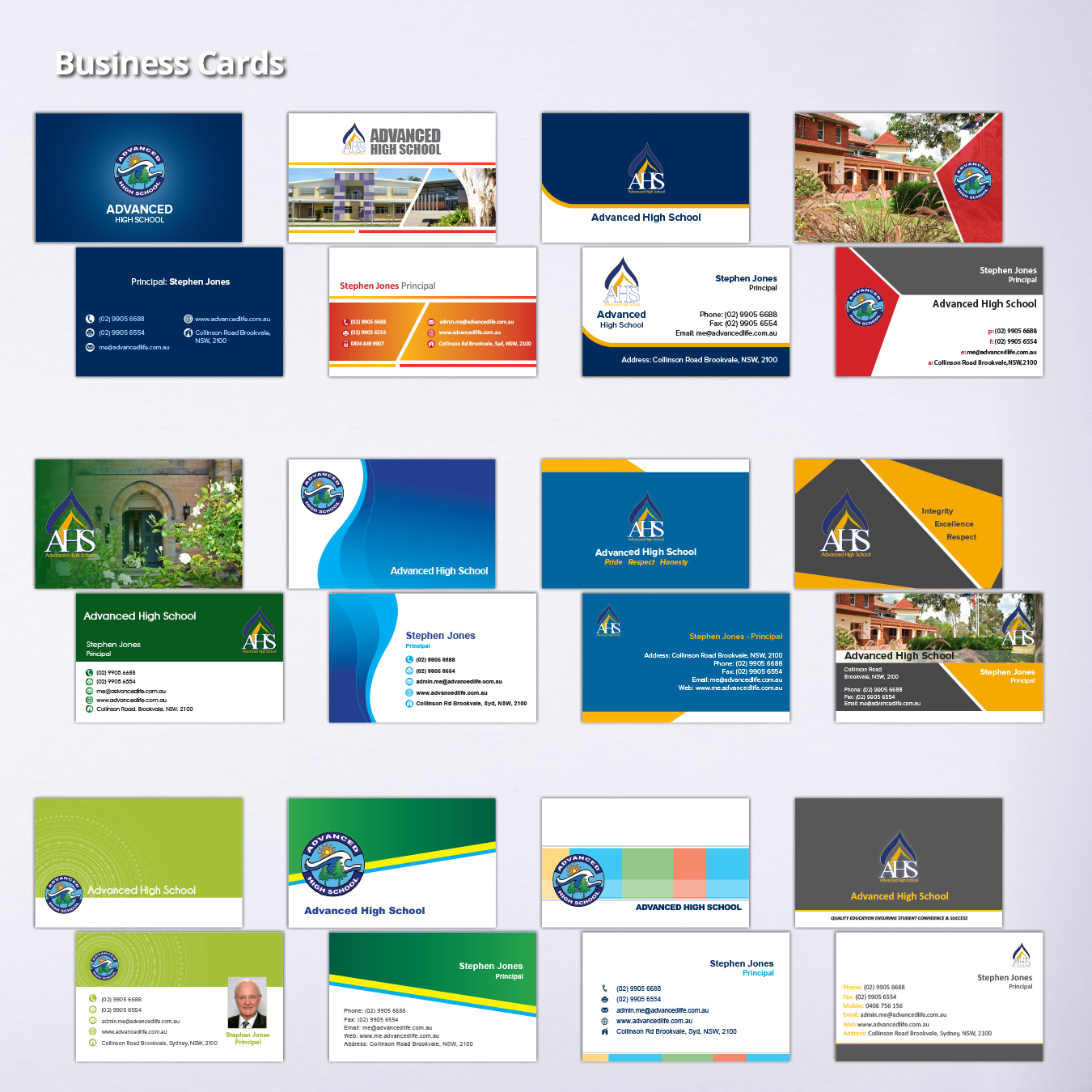 Business cards advancedprint double sided business cards reheart Choice Image